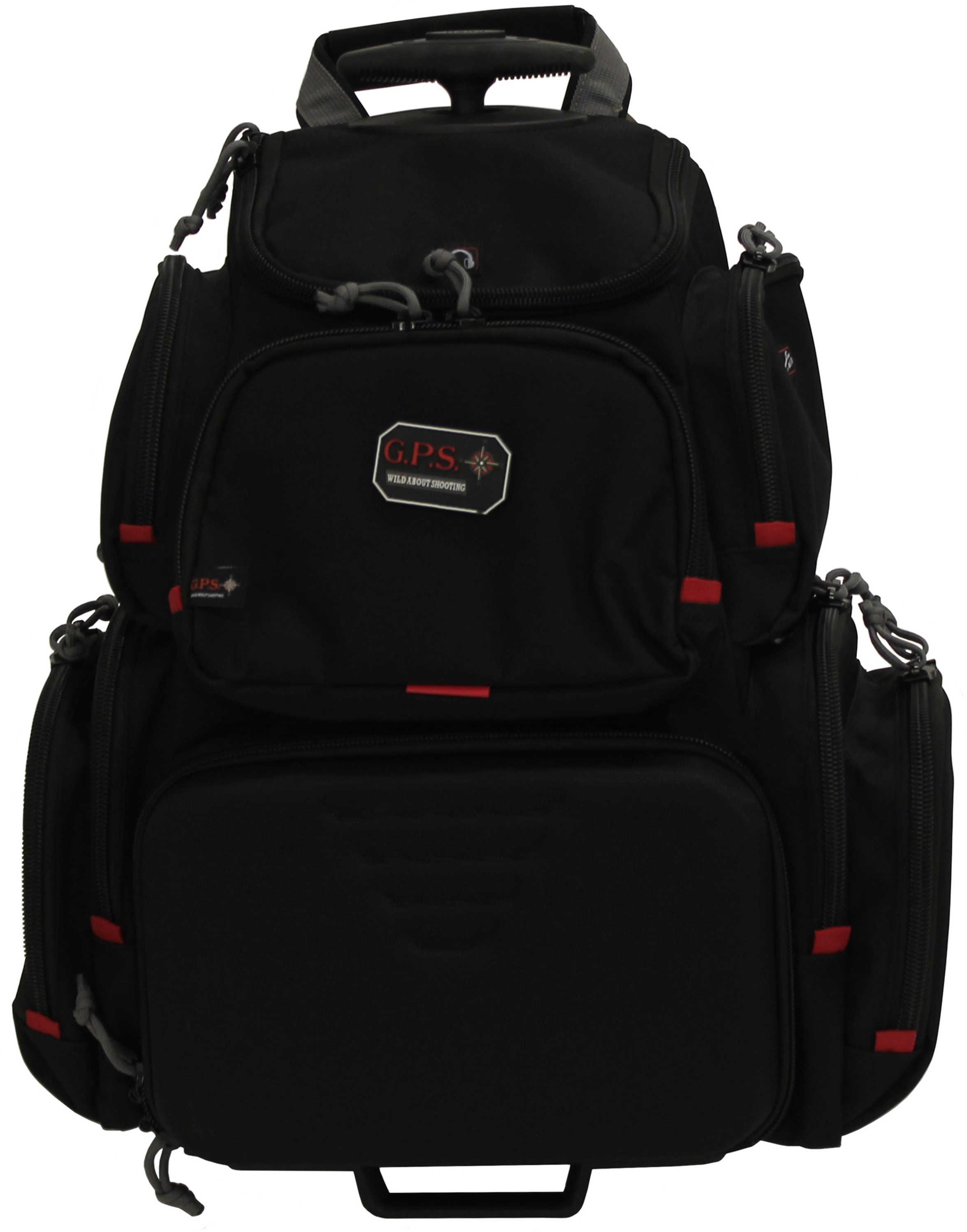 G Outdoors Inc. G Outdoors Handgunner Backpack Black Md: GPS-1711ROBP