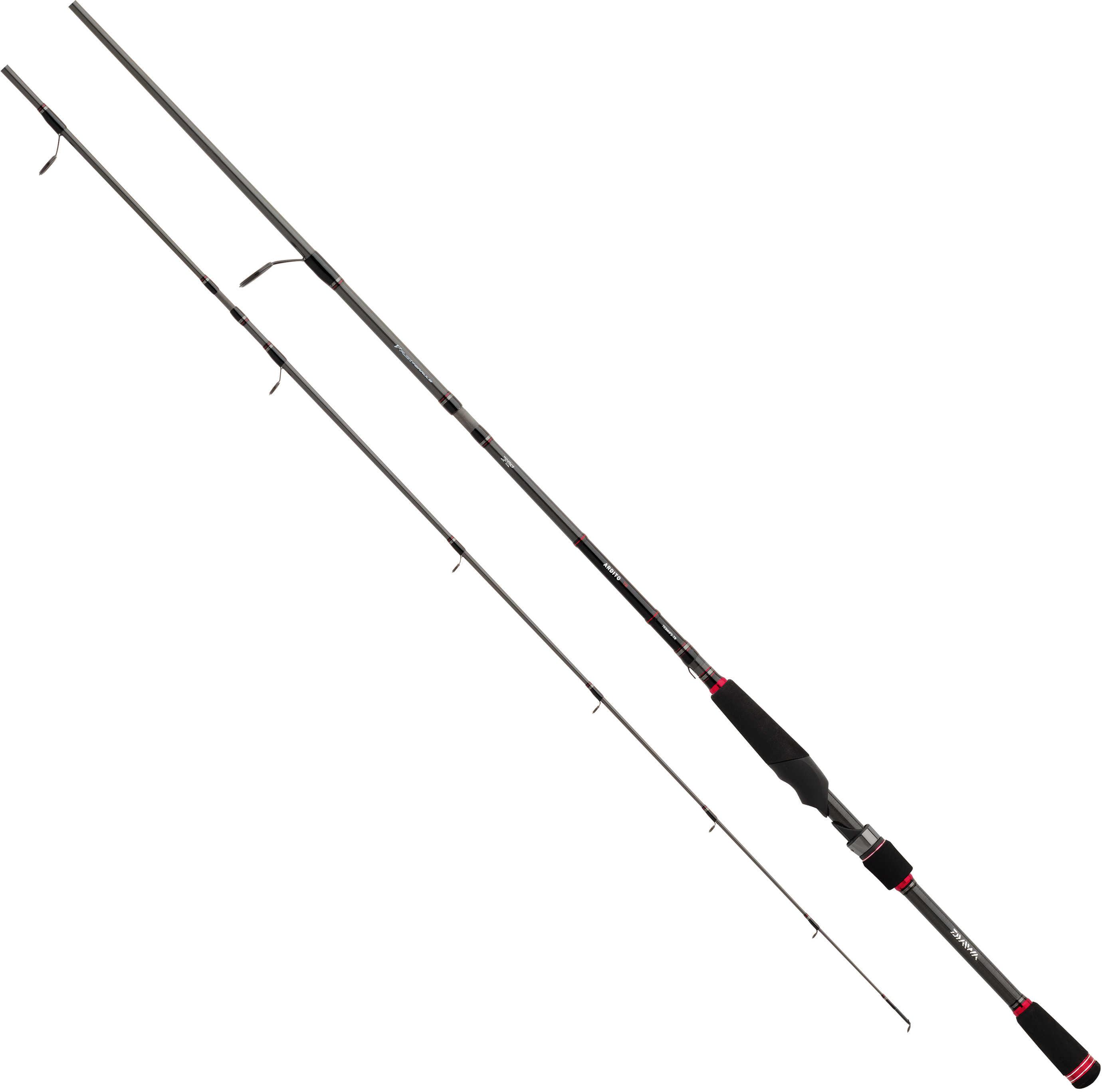 "Daiwa Ardito-TR Multi Piece Travel Spinning Rod 7'6"" Length, 3 Piece Rod, Medium/Heavy Power, Fast Action"