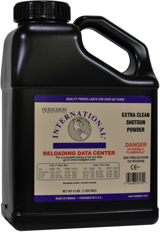 Hodgdon Powder Clays Intl Smokeless 4 Lb