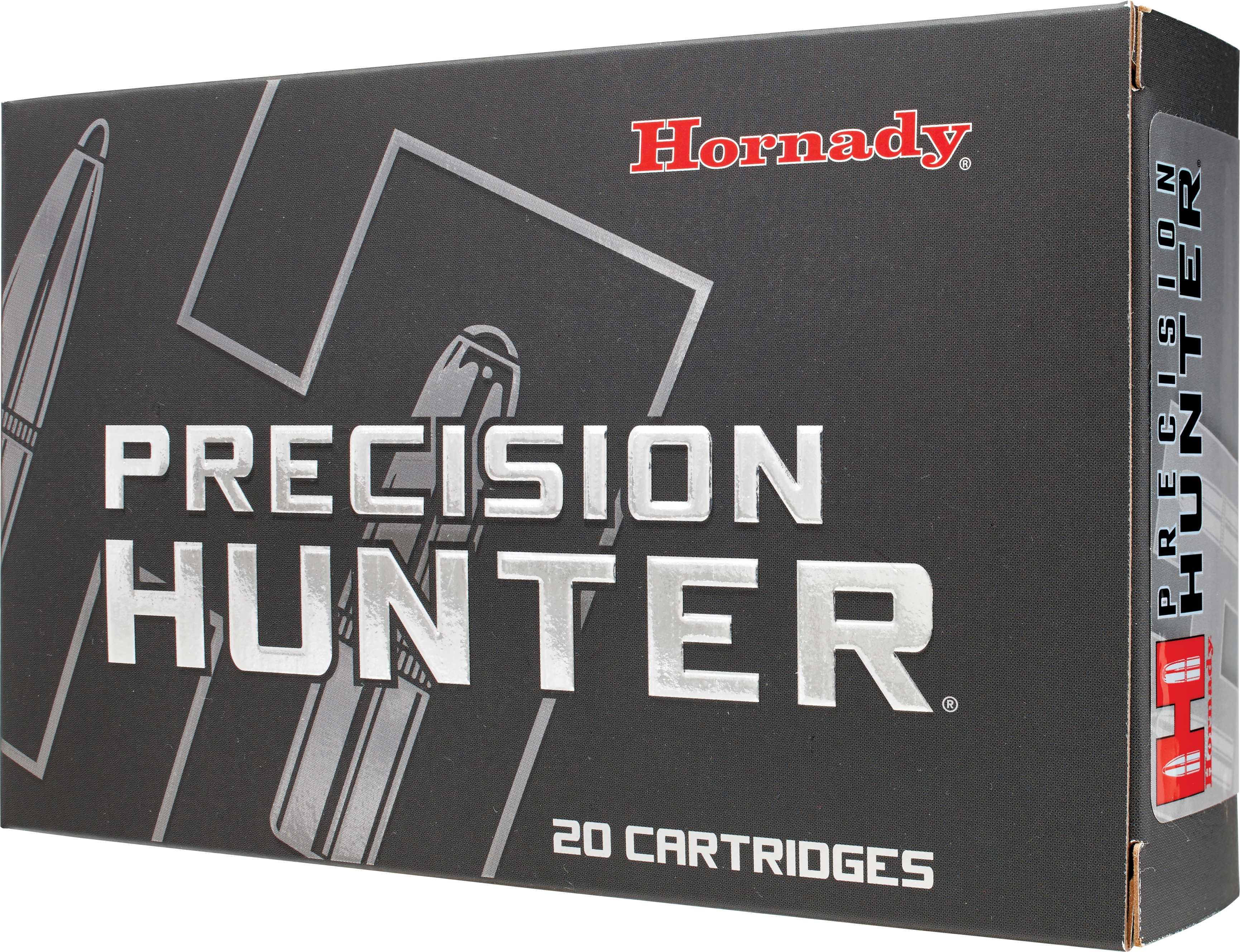 Hornady Precision Hunter 6.5 Creedmoor 143 Grain ELD-X Ammunition, 20 Rounds Per Box