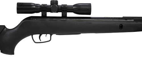 Gamo Varmint 177 Pellet Black Finish Synthetic Stock Spring Piston 4x32  Scope Single Shot 1250 Feet Per Second 611001715