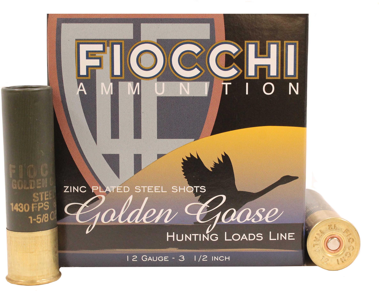 Fiocchi Golden Goose 12 Gauge 3.5'' 1-5/8Oz #T 25/Box (25 rounds Per Box)