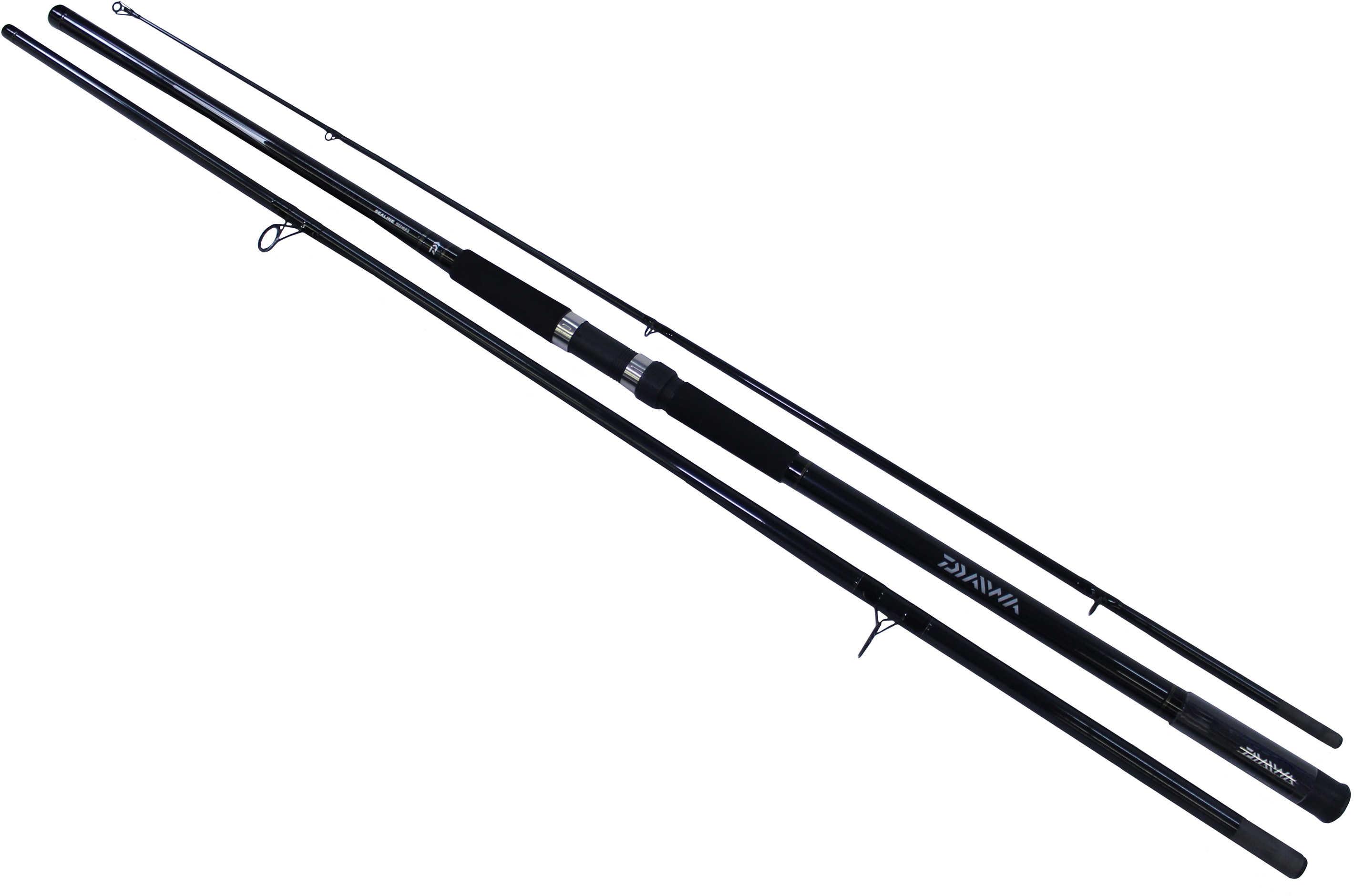 Daiwa Sealine Surf SLS Spinning Rod 15' 3 Piece Rod, 17-40 lb Line Rate, 1-6 oz Lure Rate, Medium/Heavy P