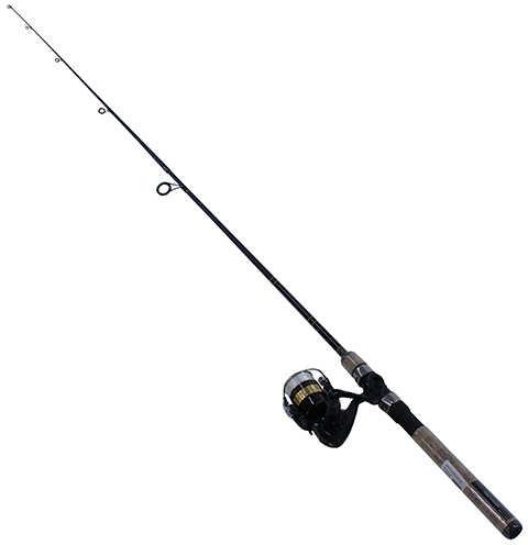 Daiwa D-Shock Freshwater Spinning Combo 2000 Reel Size, 6' Length, 2 Piece Rod, 4-10 Line Rate, Medium/Lig