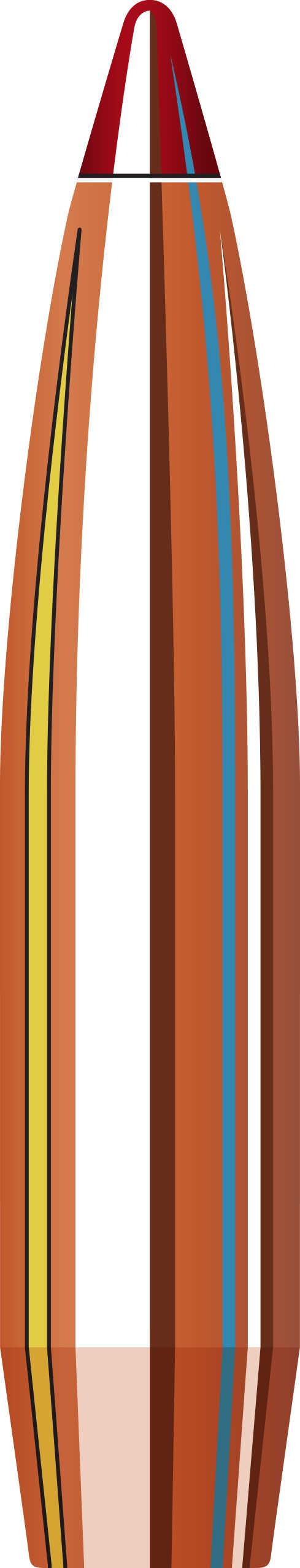 Hornady ELD Match Reloading Bullets 243 Caliber 108 Grain Boat Tail, 100  Per Box Md: 24561