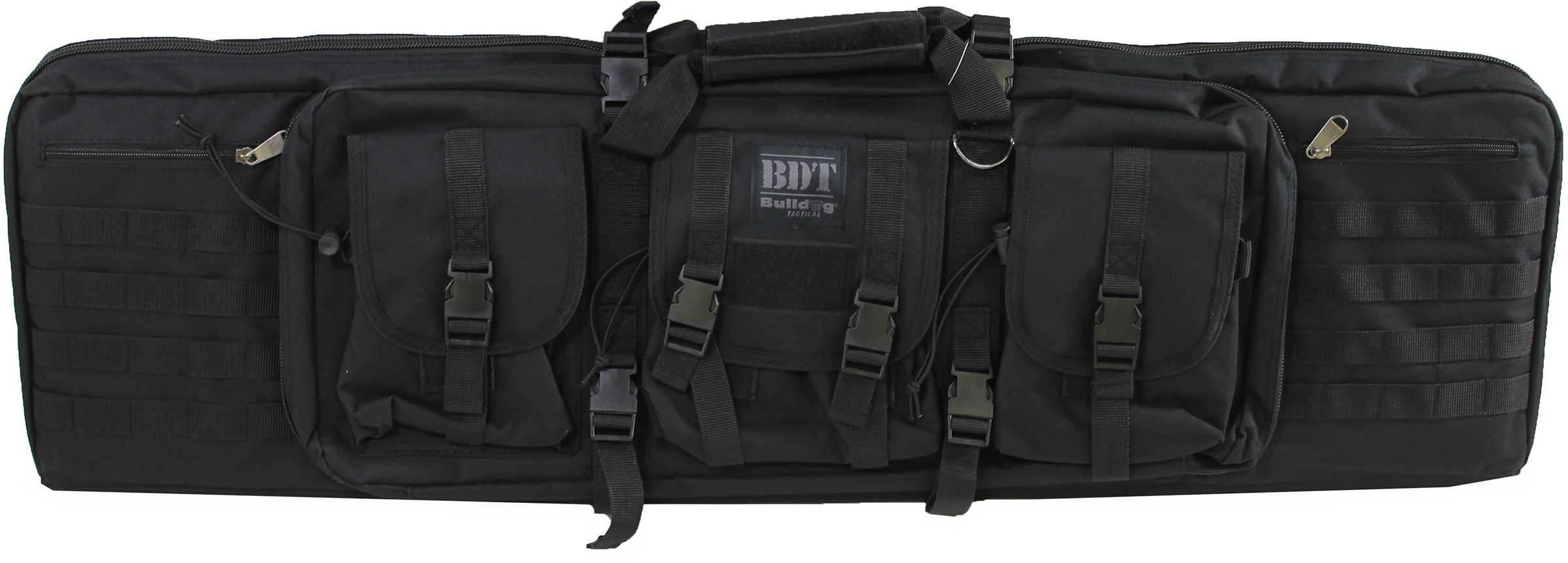 "Bulldog Cases Tactical Double Rifle Case Black Nylon 43"" BDT60-43B"