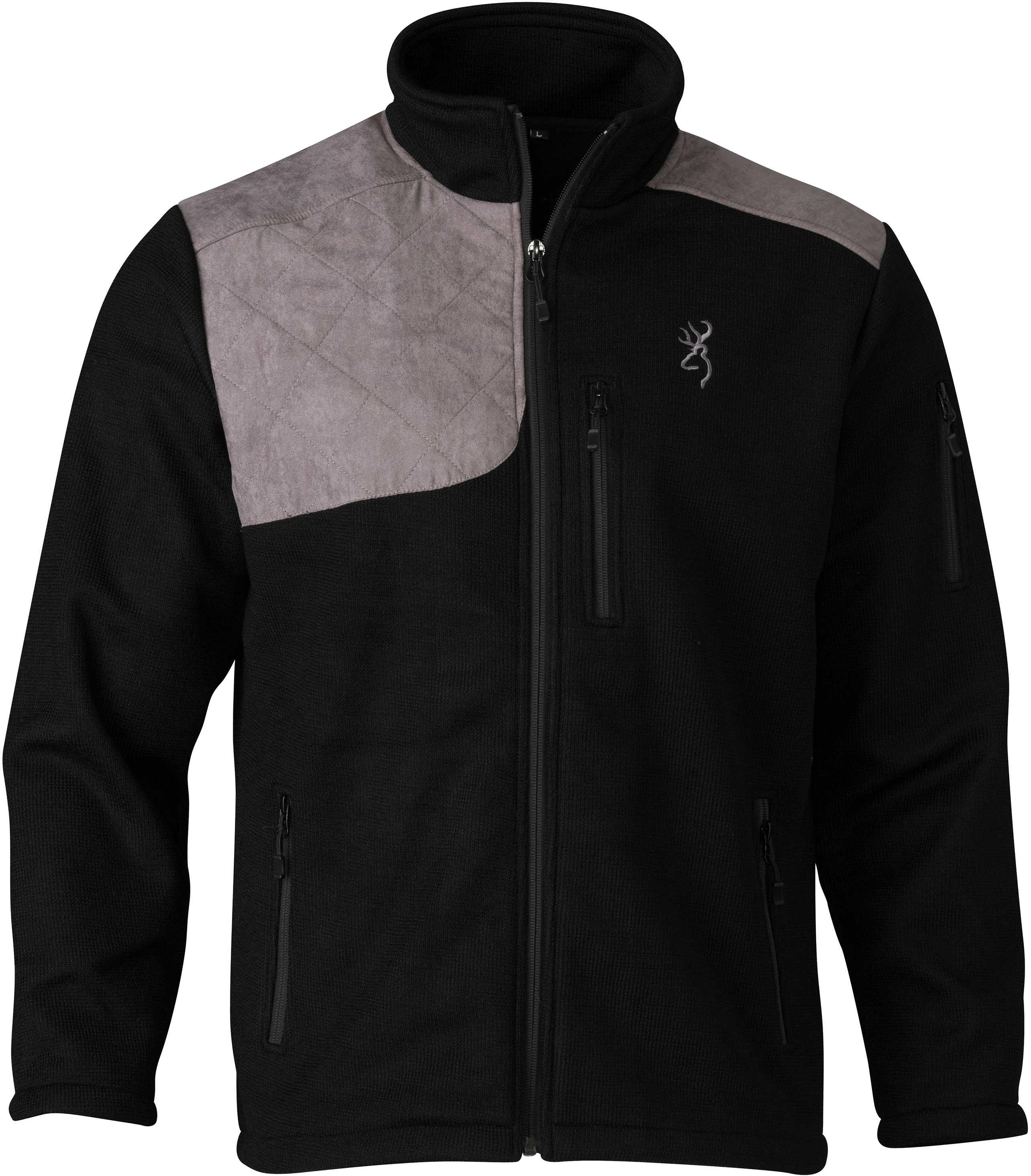 Browning Bridger Shooting Jacket Black/Gray, X-Large Md: 3040809904