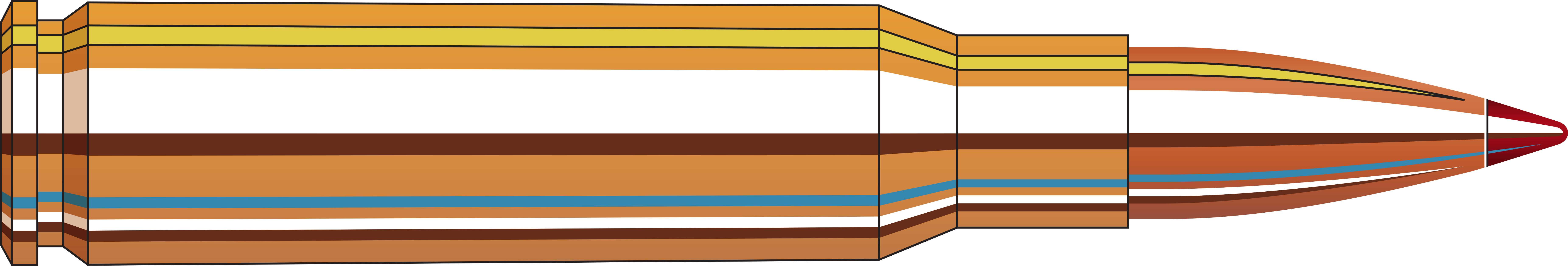 Hornady Superformance Match, 308 Winchester 168 Grain ELD Match Ammunition,  20 Rounds Per Box Md: 80963