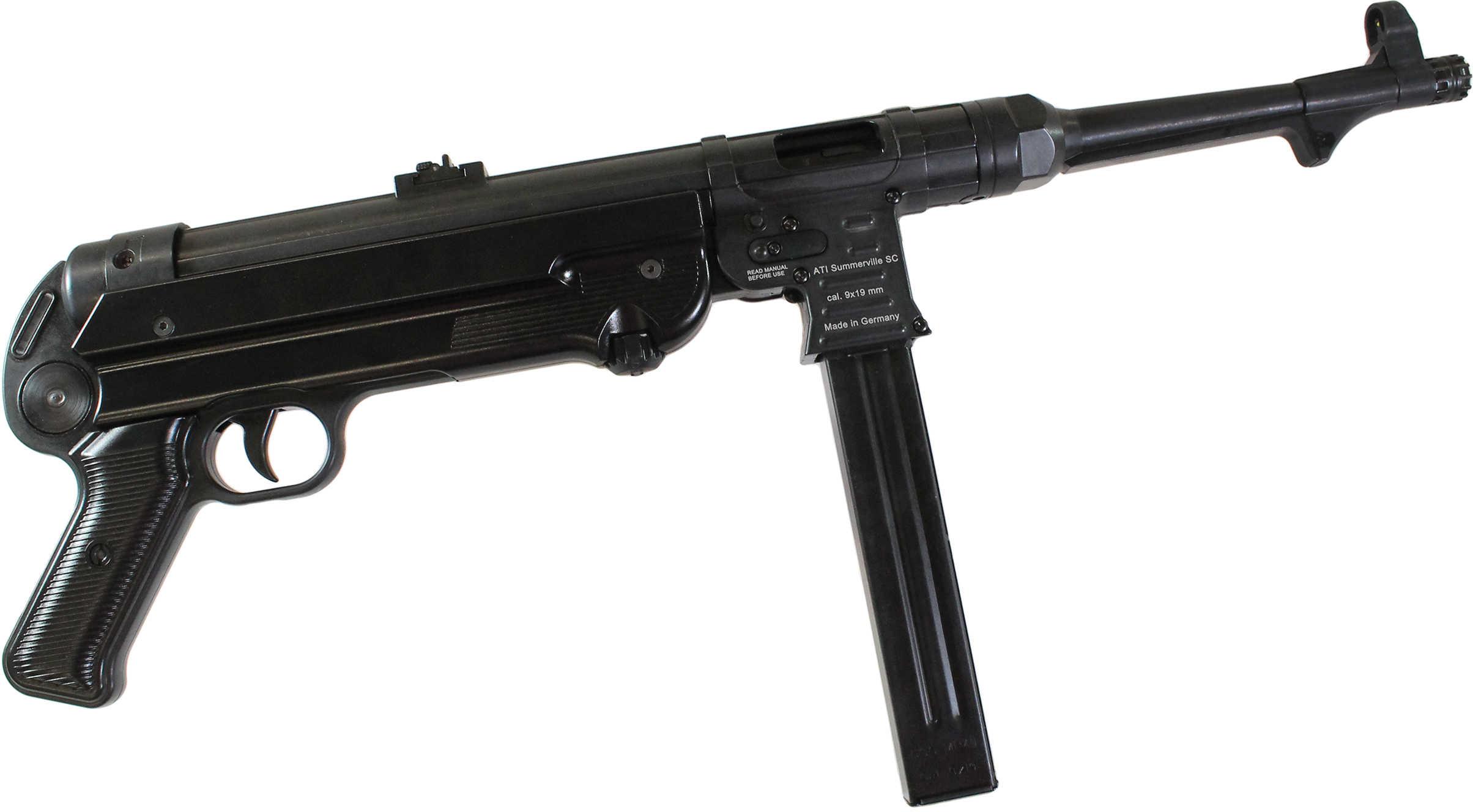 Pistol American Tactical Imports GSG-MP40P 9mm 10.8'' Barrel 25 Round Blak Finish