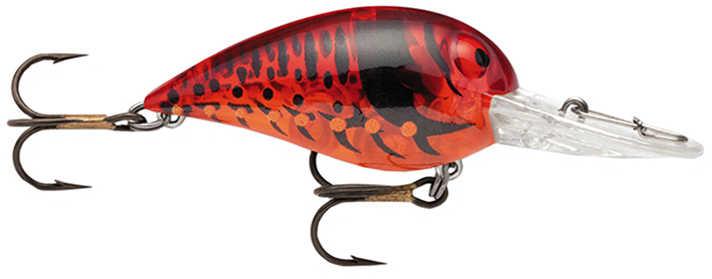 Storm Original Wiggle Wart Lure 2-Inch Number 4 Hook, Phantom Red Craw, Per 1 Md: V168