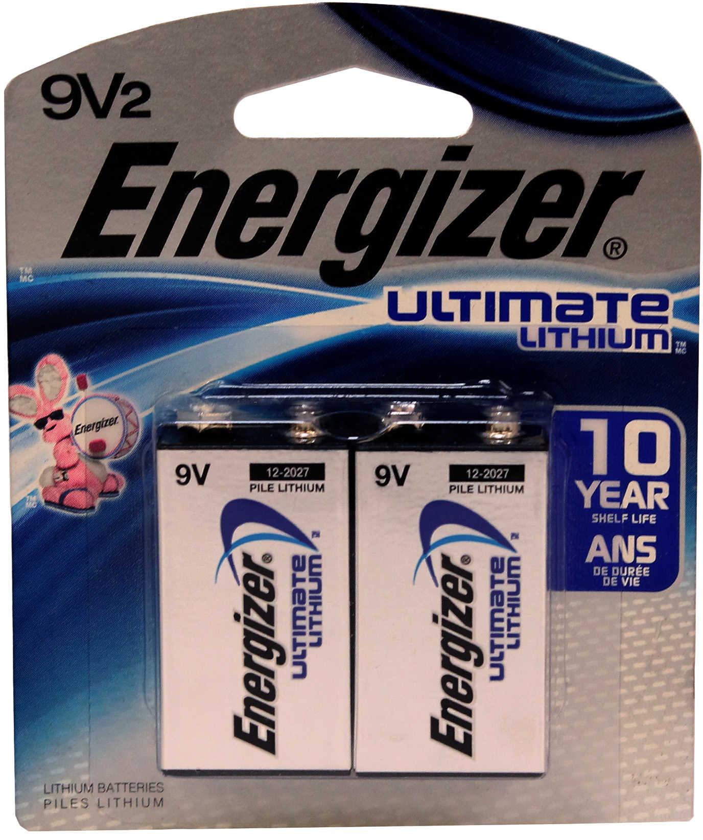 Ultimate Li 9V 2 EMOD Md: L522BP2 Energizer