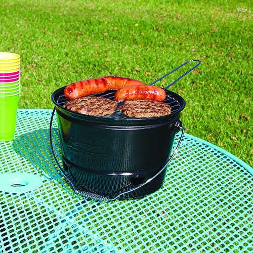 Portable Barbecue BBQ Bucket Grill, Black Md: 15098 - 11216077