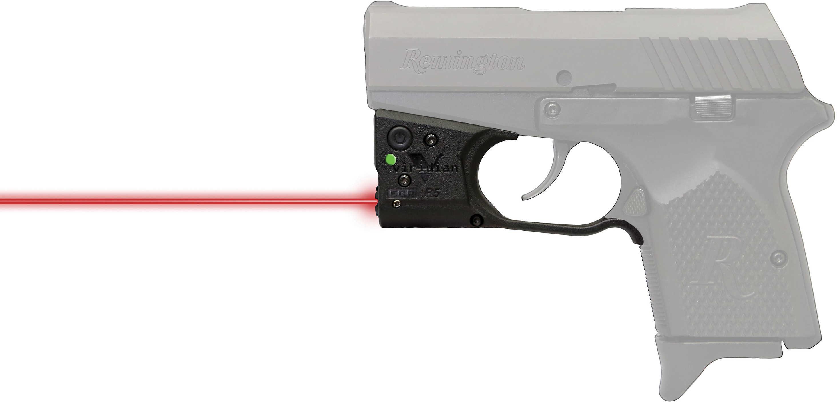 Reactor 5 Gen II Red Laser Remington RM380 with ECR Instant On Holster, Black