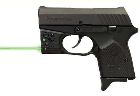 Reactor 5 Gen II Green Laser Remington RM380 with ECR Instant On IWB Holster, Black