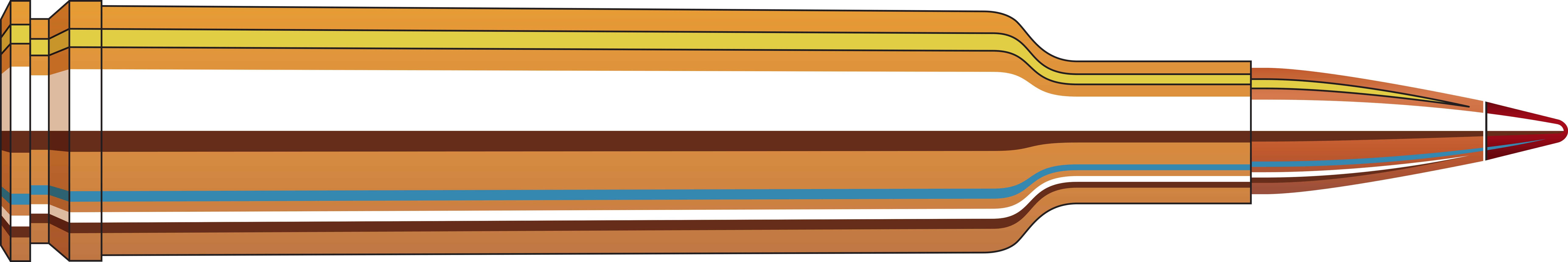 Hornady 257 Weatherby Magnum Precision Hunter, 110 Grains, ELD-X, Per 20 Md: 81364