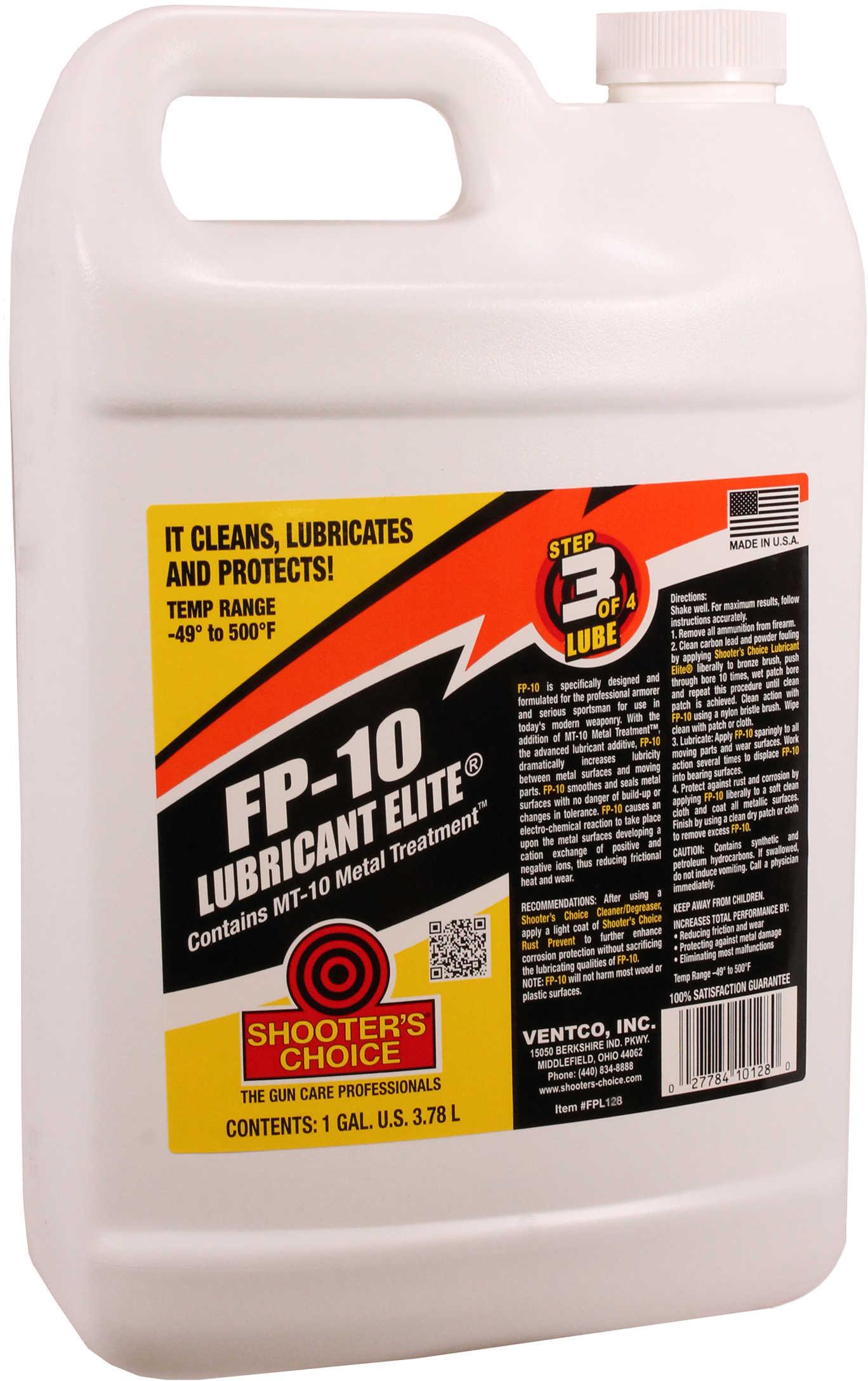 Shooter's Choice FP-10 Gun Lubricant Elite 1 Gallon Hug