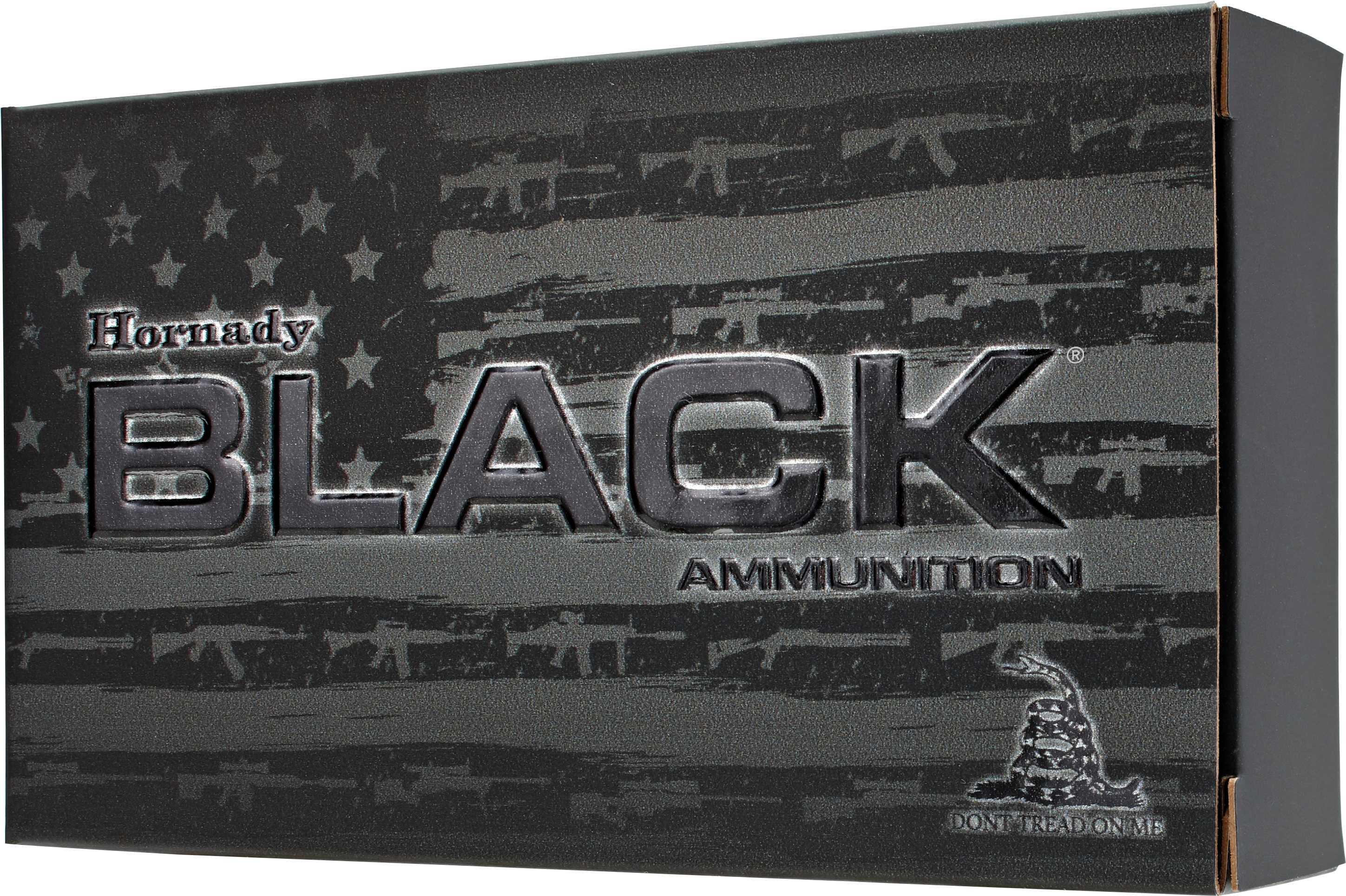 Hornady Ammunition Black 6mm Creedmoor 105 Grain BTHP 20-Pack