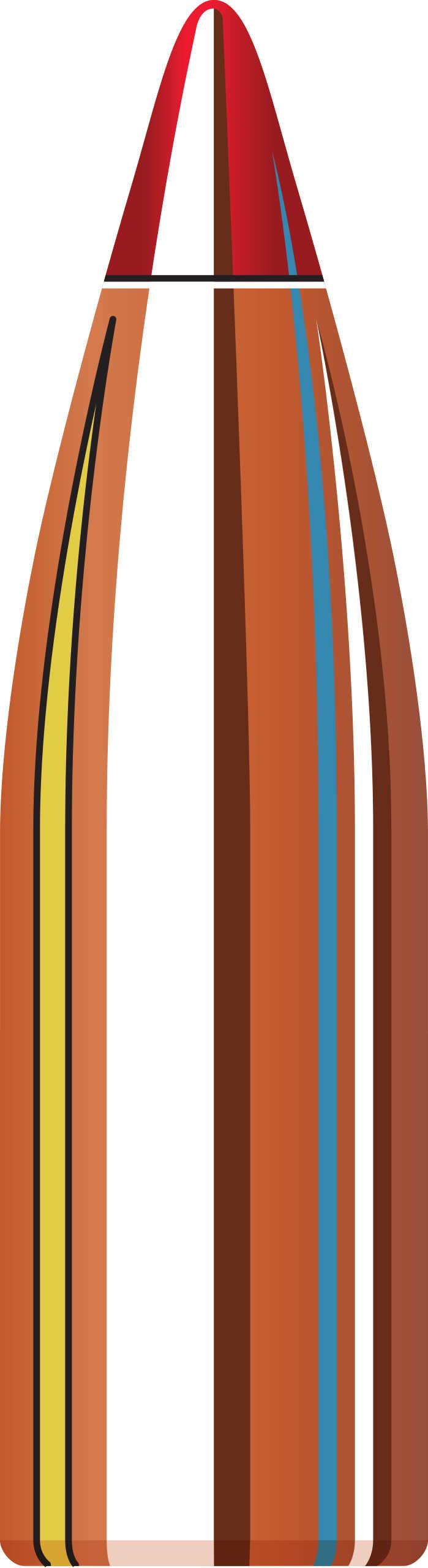 Hornady 22 Caliber Bullets (.224) 55 Grains V-Max (Per 100) 22271