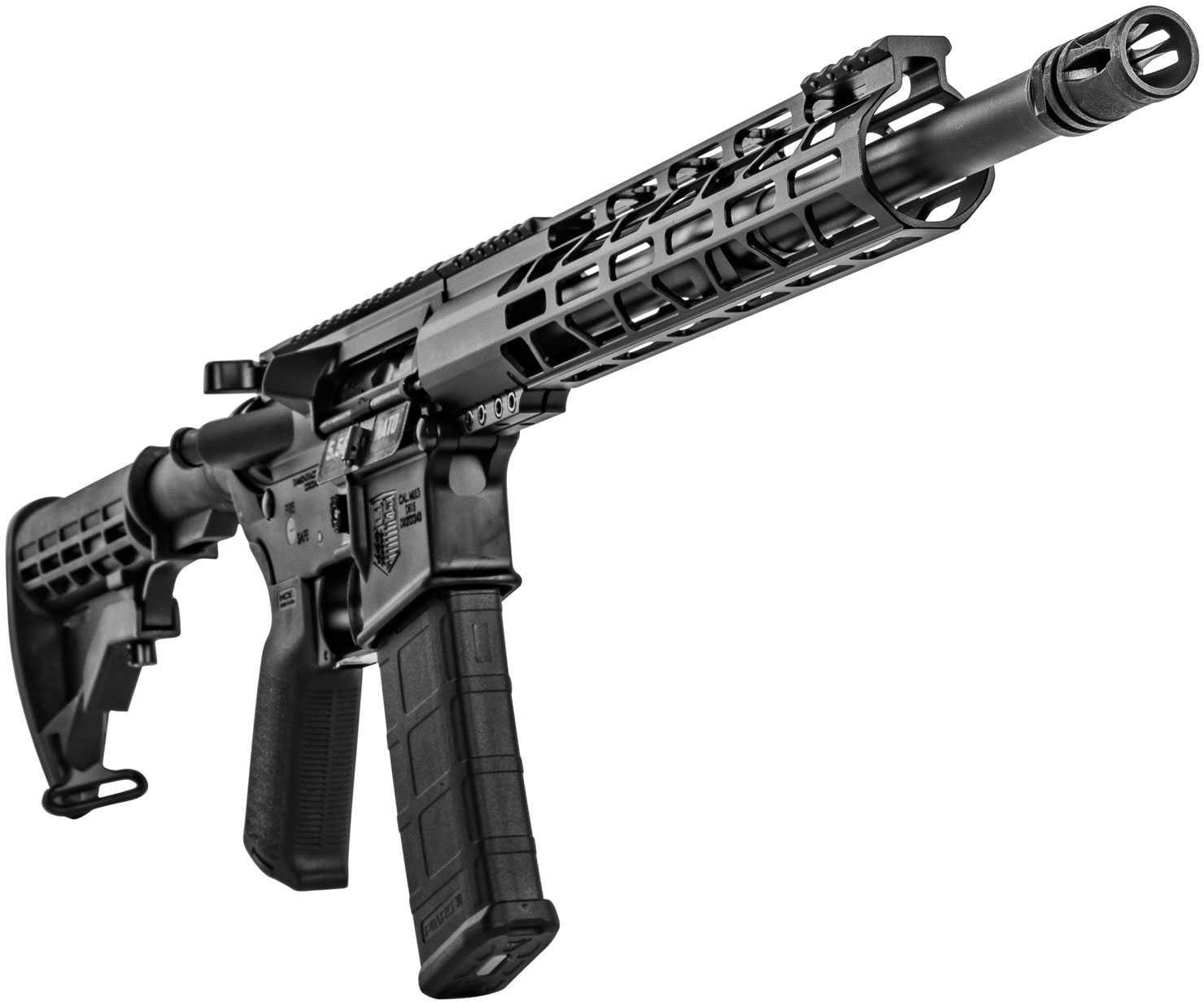 "Diamondback DB15 AR-15 Rifle 223 Rem 16"" Barrel 30 Round Black Nitride Black Hard Coat Anodized 6 Position Stock"