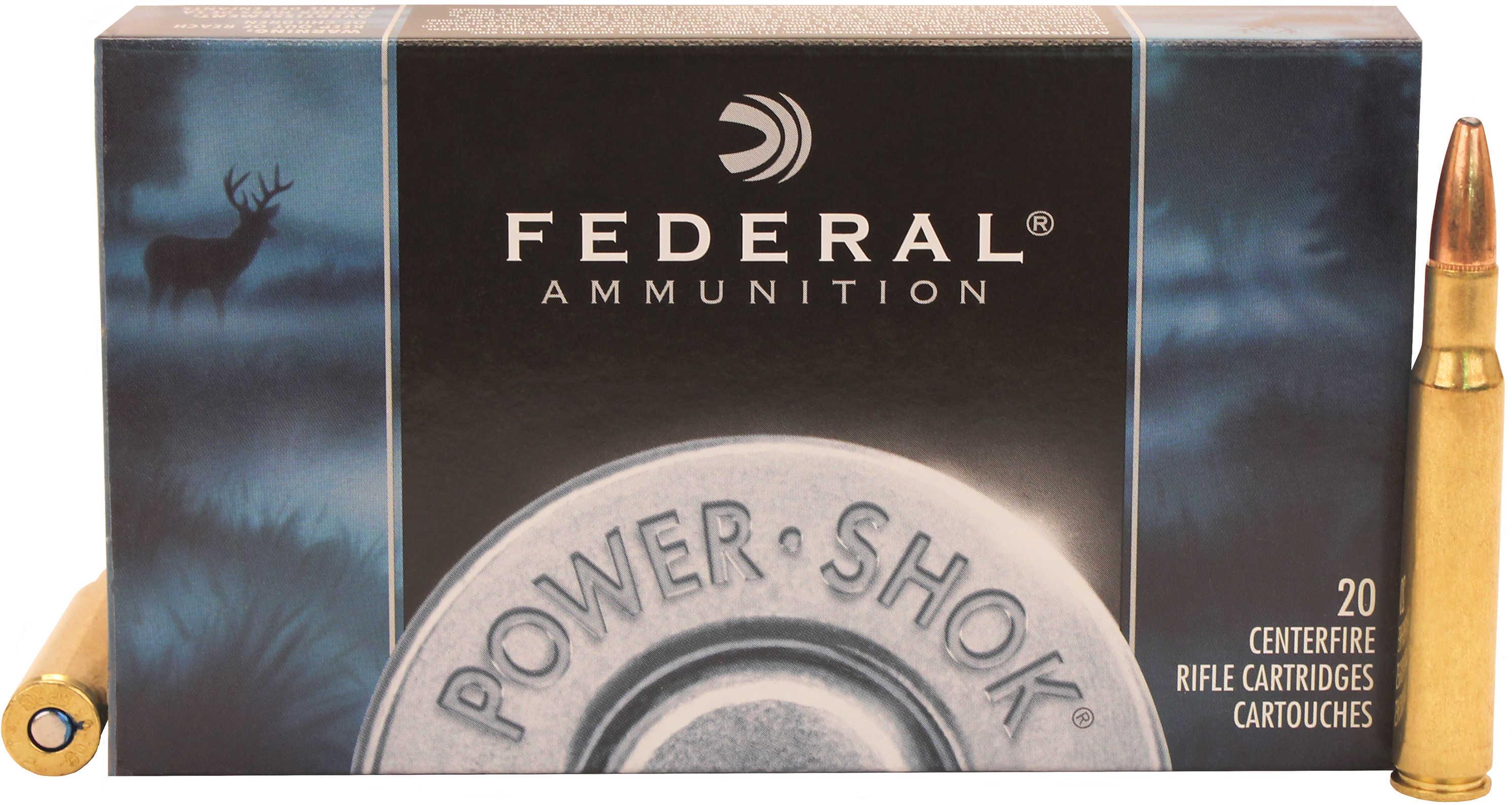 Federal Power-Shok 30-06 Springfield 150 Grain Soft Point (Per 20) 3006A