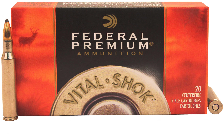 Federal Cartridge 270 Winchester 130grain, Sierra GameKing Boat Tail Soft Point, (Per 20) P270D