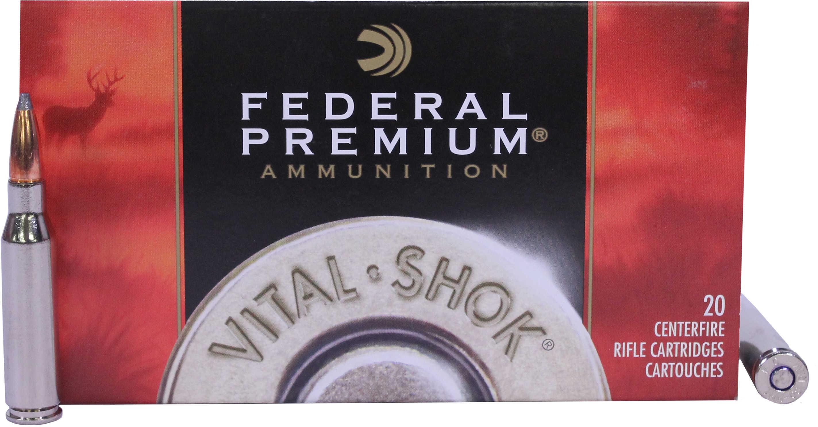 Federal Cartridge 7mm-08 Remington 140gr, Nosler Partition, (Per 20) P708A