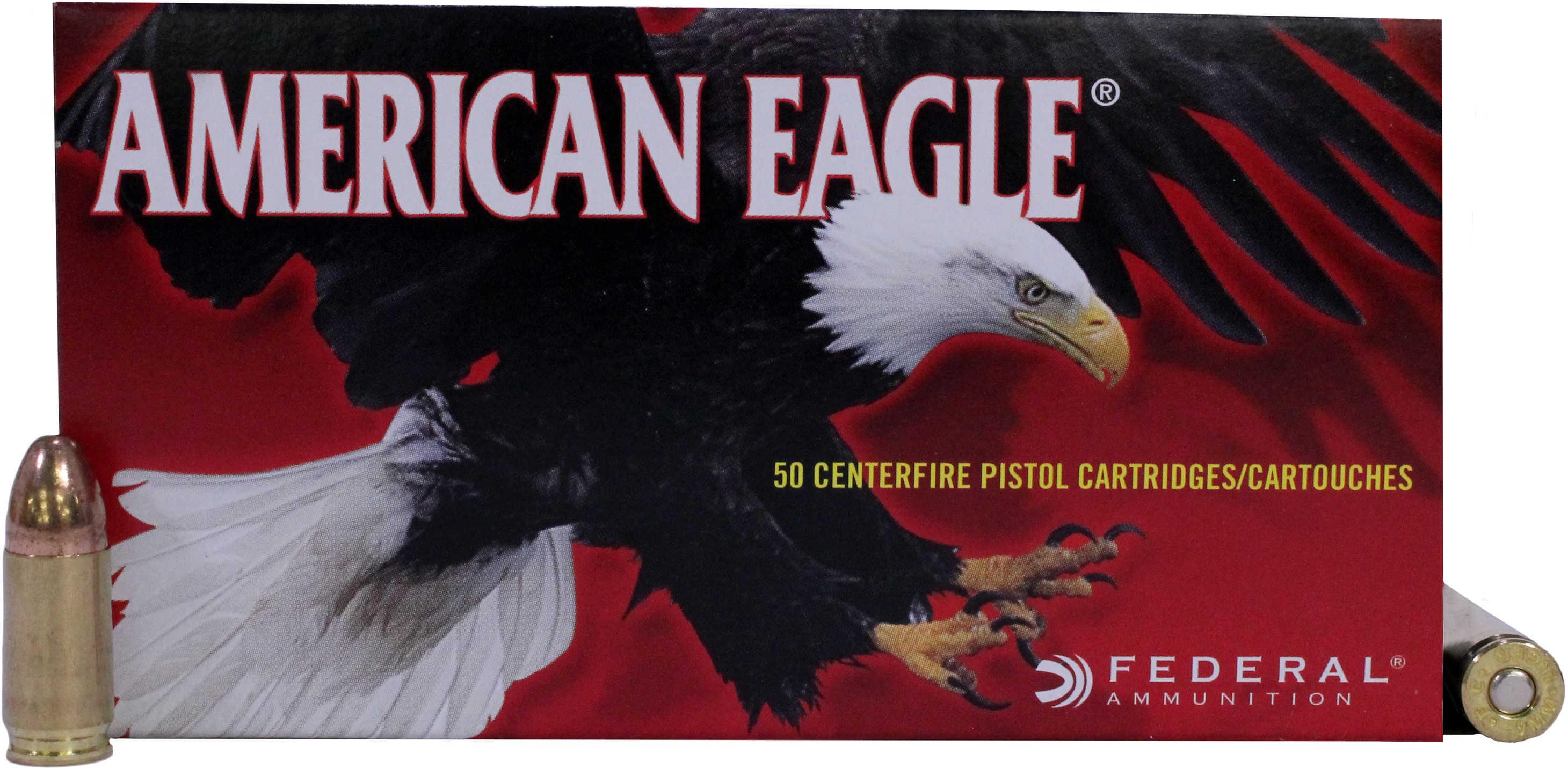 Federal Cartridge 9mm Luger 9mm Luger, 124gr, Full Metal Jacket, (Per 50) AE9AP