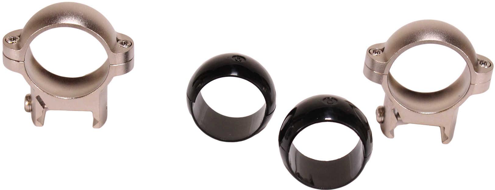 """Burris Signature 1"""" Zee Rings Medium Nickel 420522"""