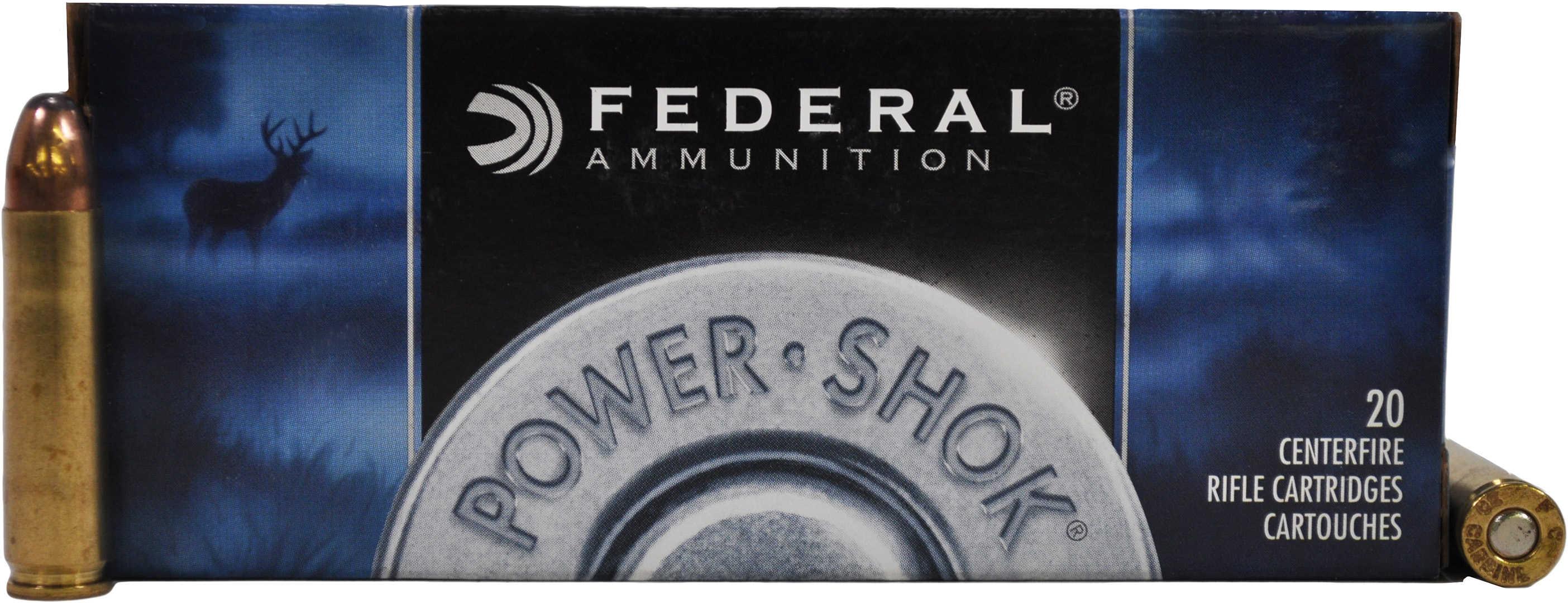 Federal PowerShok 30 Carbine 100 Grain Soft Point Round Nose 20 Round Box 30CA