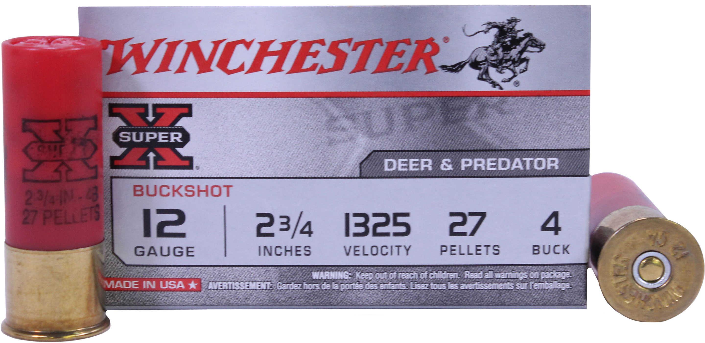 Winchester Ammunition Super-X 12 Gauge 2 75
