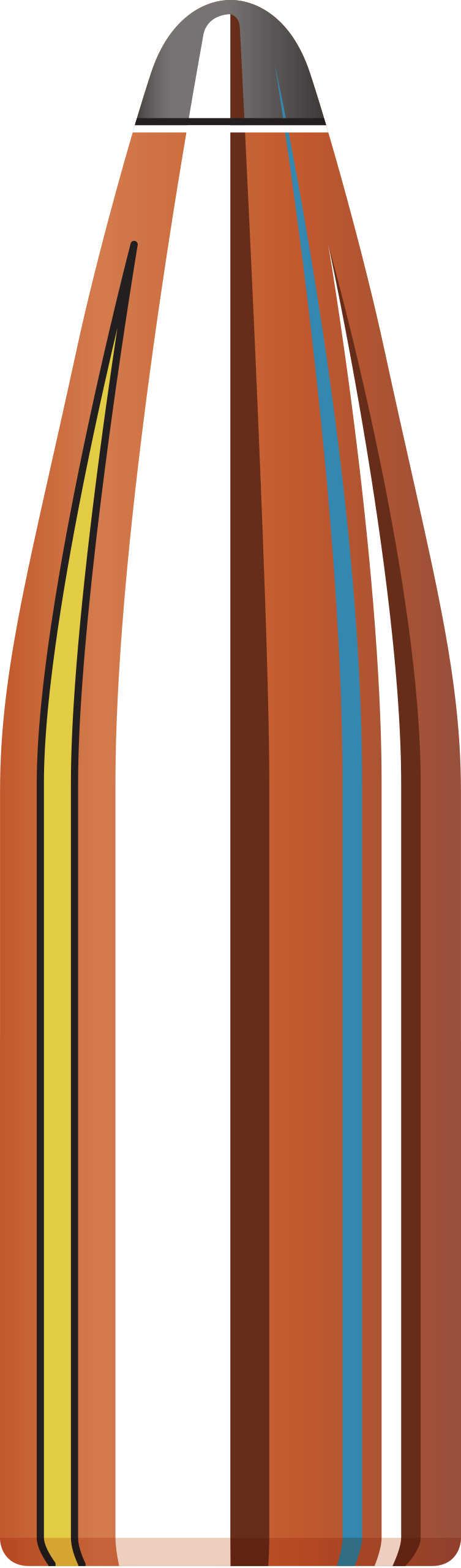 Hornady 22 Caliber Bullets (.224) 60 Grains SP (Per 100) 2270