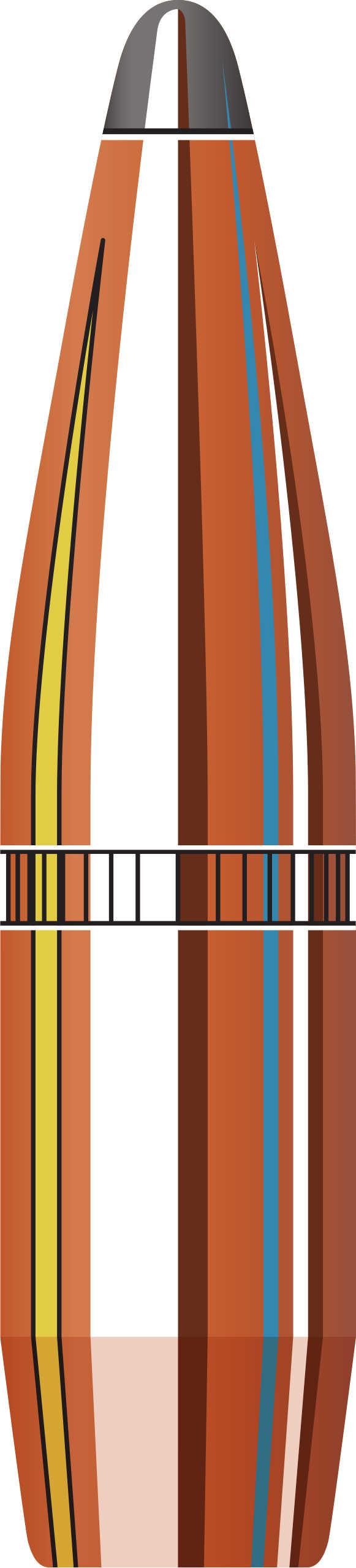 Hornady 270 Caliber InterLock Bullets 140 Grain Spire Point Boat Tail (Per 100) 2735