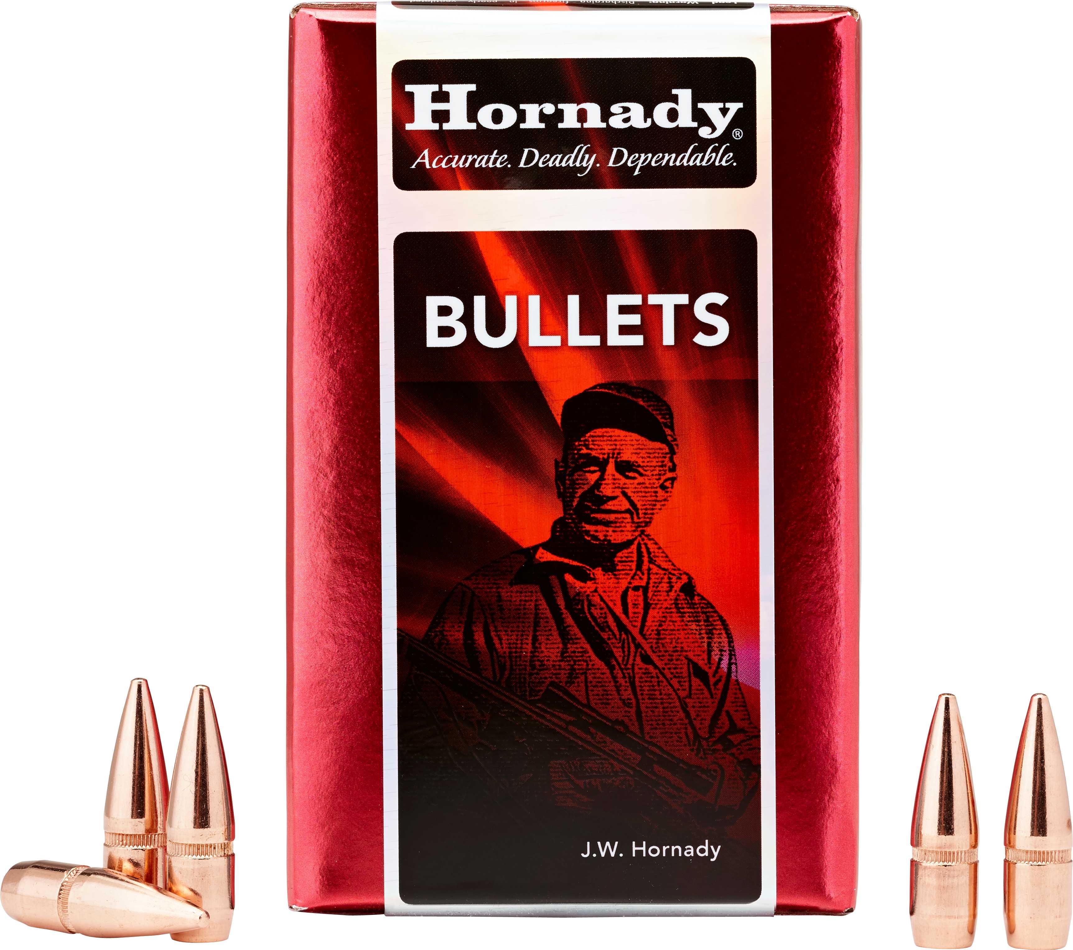 Hornady 30 Caliber Bullets 165 Grains BTSP (Per 100) 3045