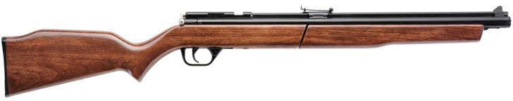 "Benjamin Sheridan Model 392 .22 Pellet 19"" Barrel Black Finish Wood Stock Pump Action Single Shot 685 Feet Per Second 39"