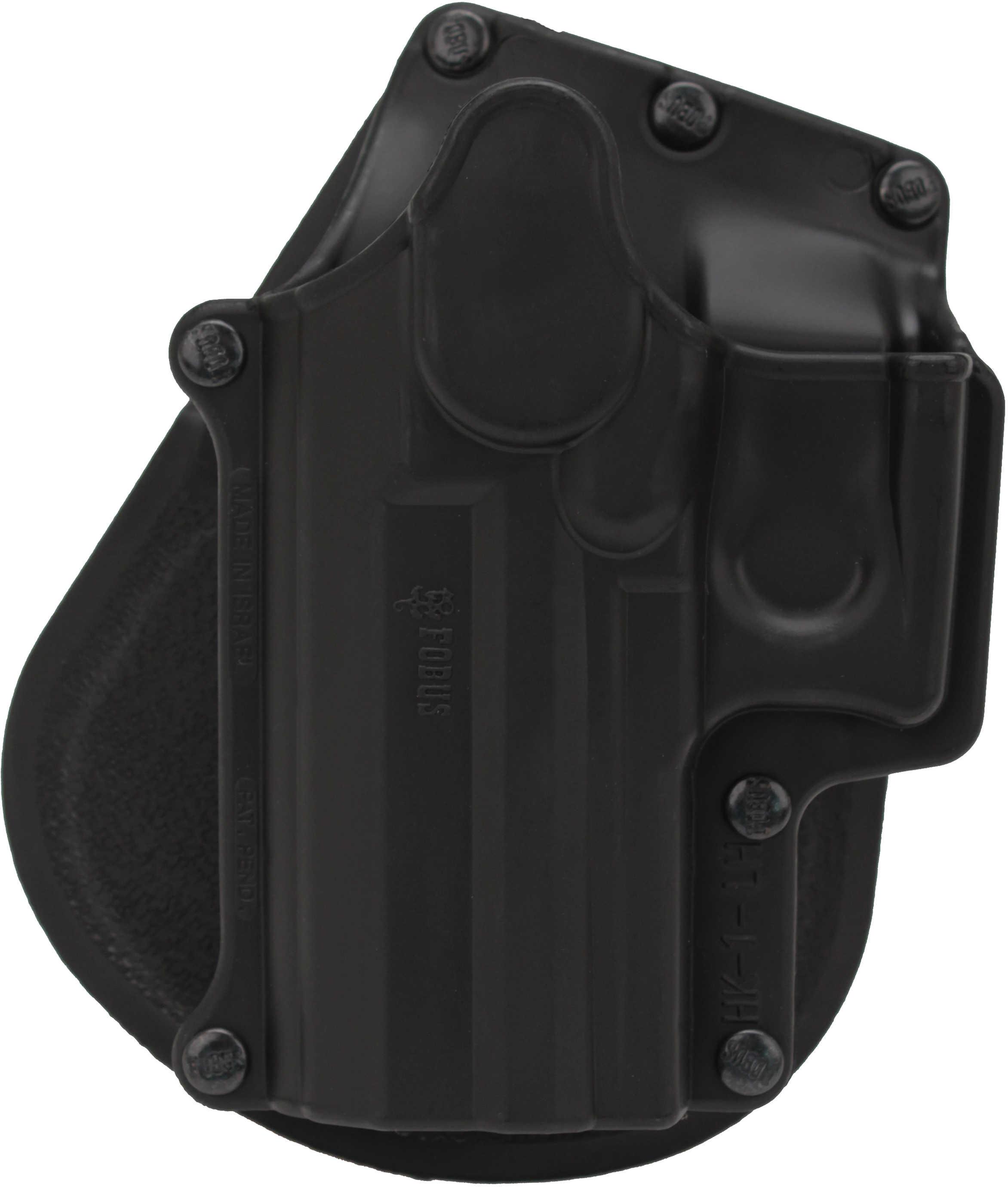 Fobus Paddle Holster Left Hand Black HK USP Full/Compact 9/40/45, S&W  Sigma, Ruger SR9 HK1LH