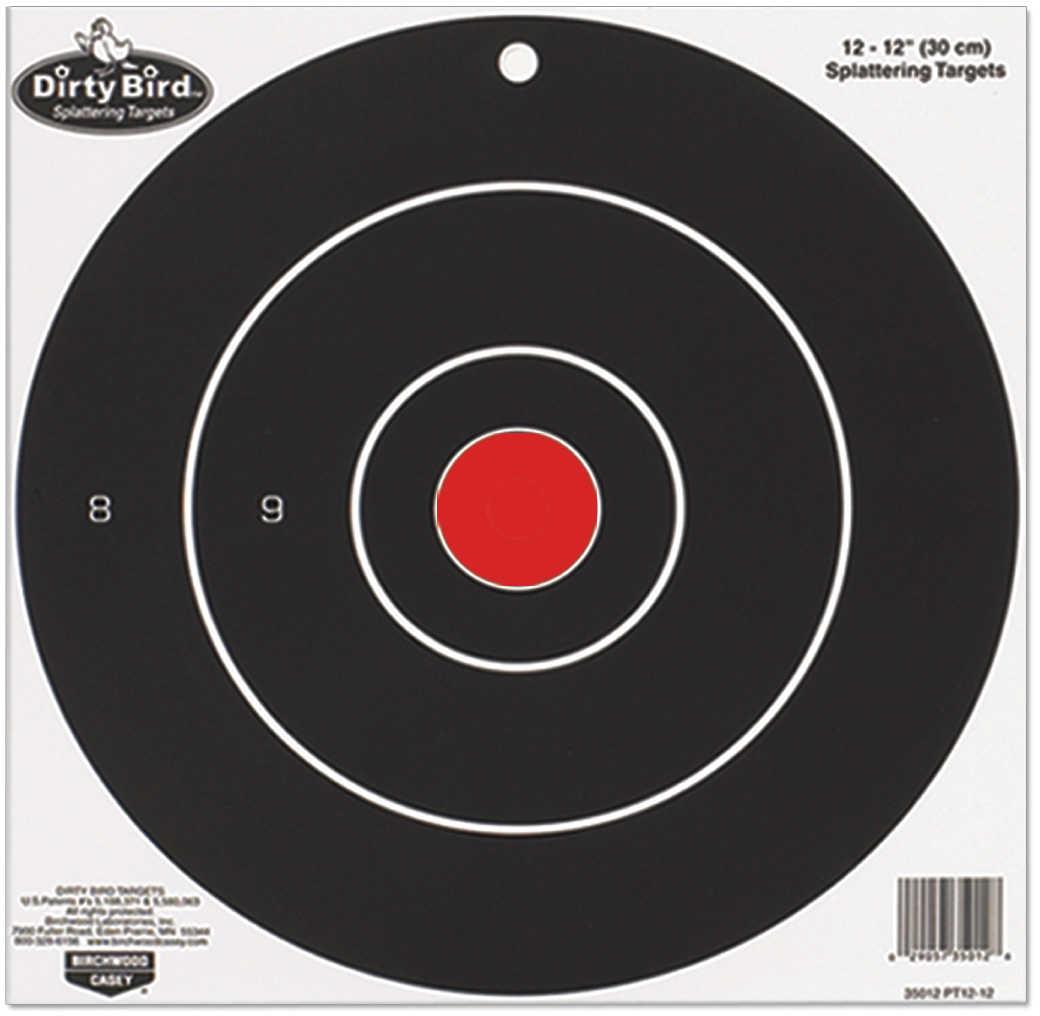 "Birchwood Casey Dirty Bird Paper Targets 8"", Round, (25 Pack) 35825"