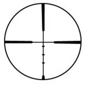 Burris Fullfield II Scope 3-9x40mm Ballistic Plex, Nickel 200169