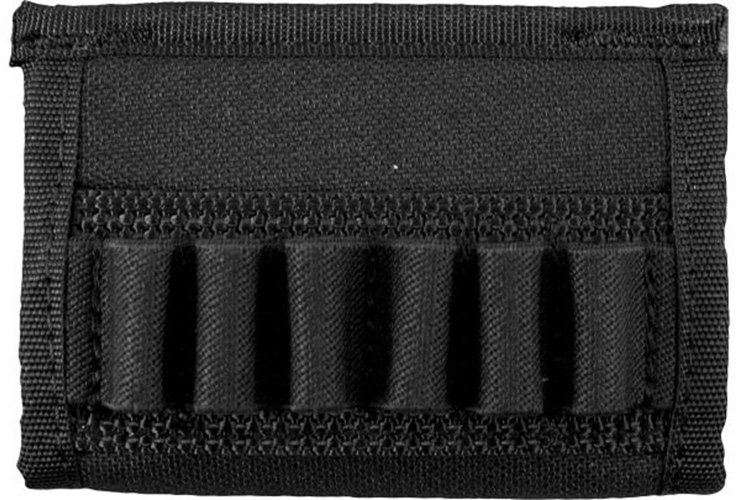 Uncle Mikes Cordura Cartridge Carrier, Black Handgun Cartridge Slide 88401