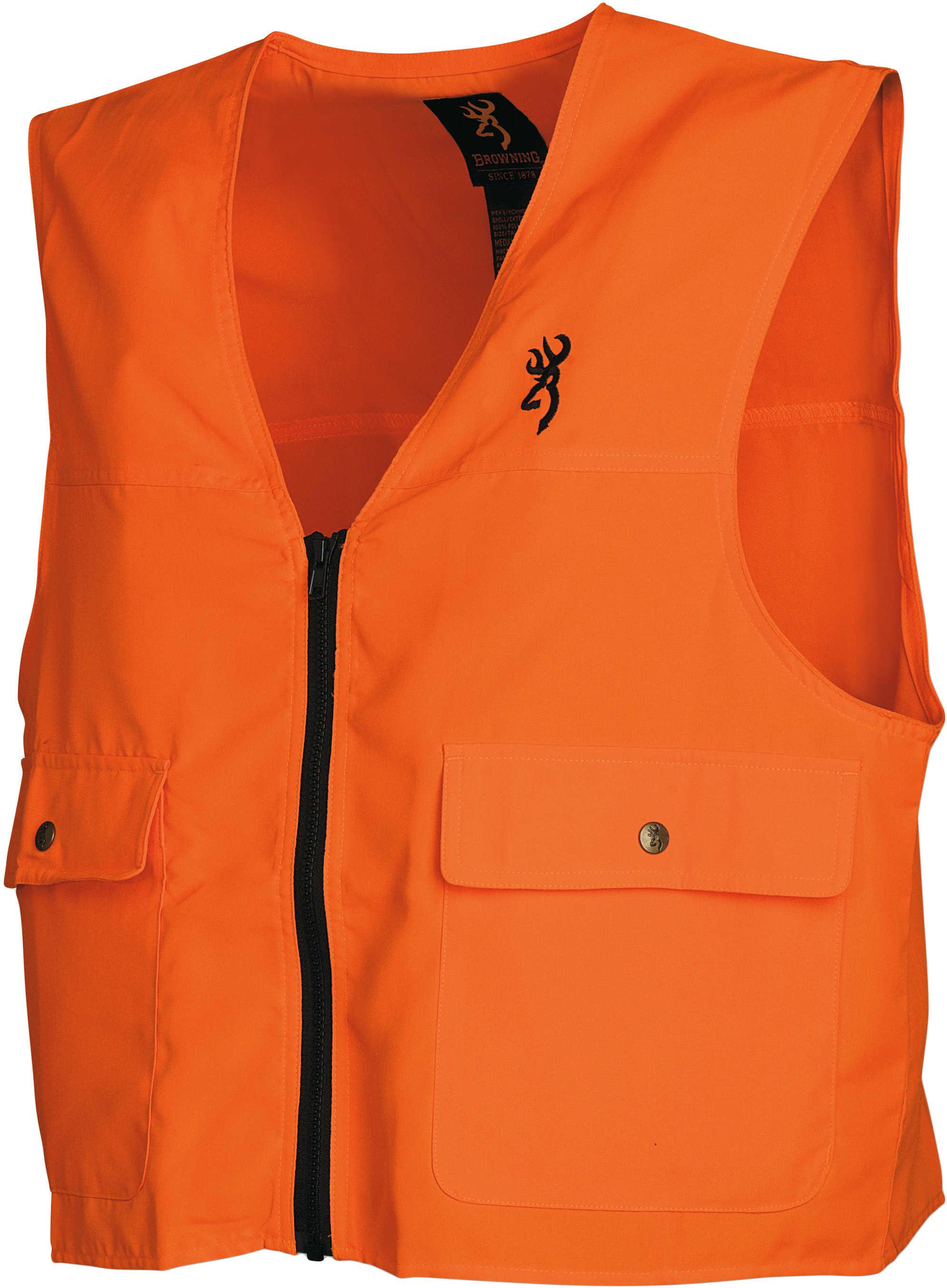 Browning Safety Blaze Overlay Vest Blaze, XLarge 3051000104
