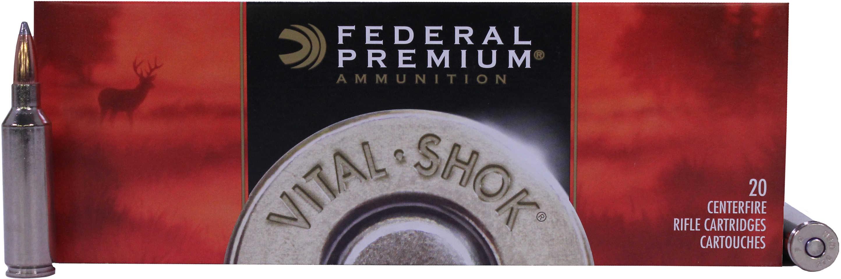 Federal Cartridge 270 Winchester Short Magnum 270 WSM, 150grain, Nosler Partition, (Per 20) P270WSMC