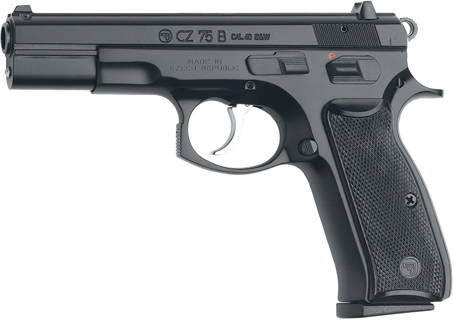CZ USA 75B 40 S&W Black Polycoat 10 Round Semi Automatic Pistol 01120