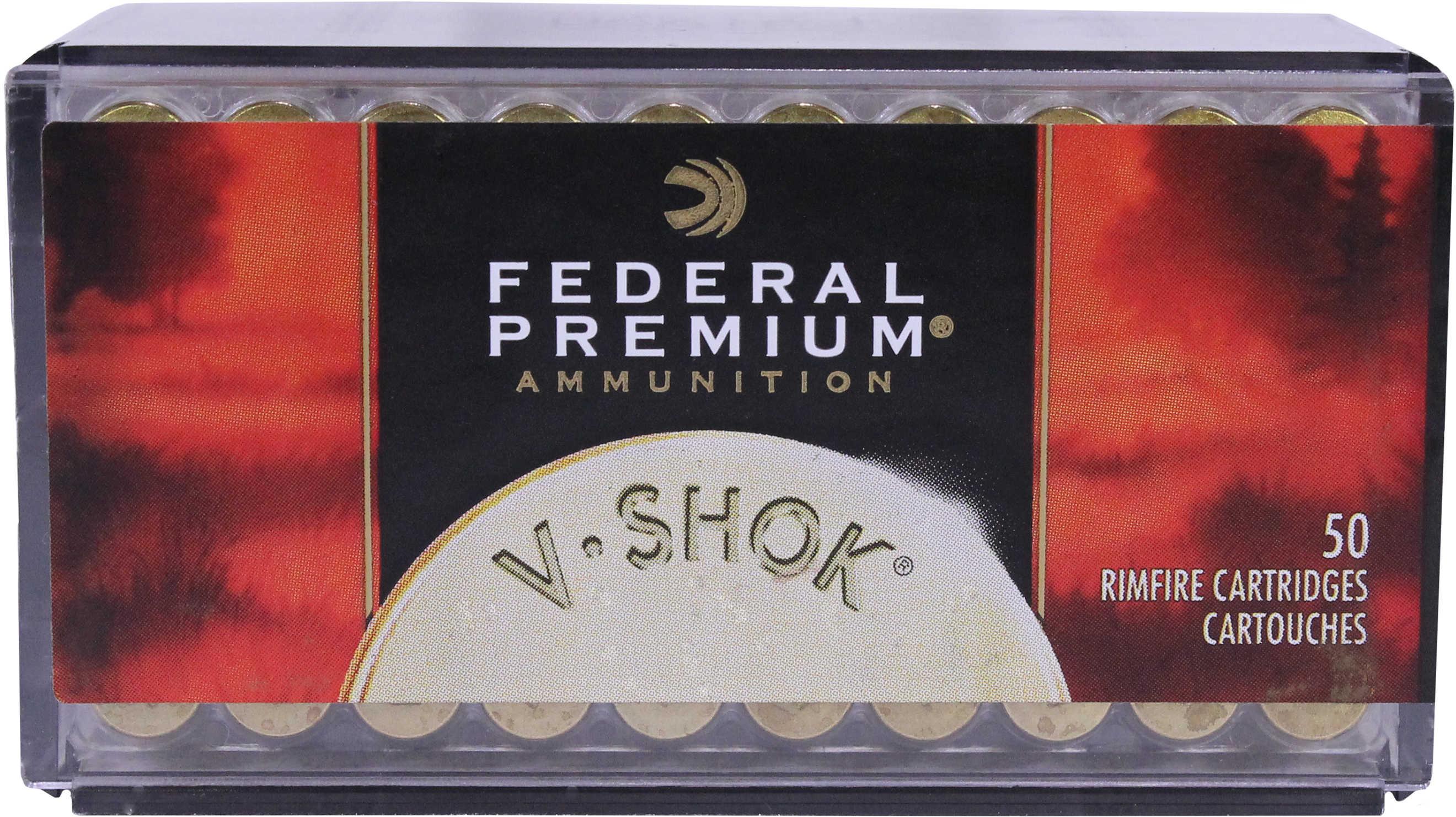 Federal Cartridge 17 HMR Premium V-Shok 17 Grains V Max P771