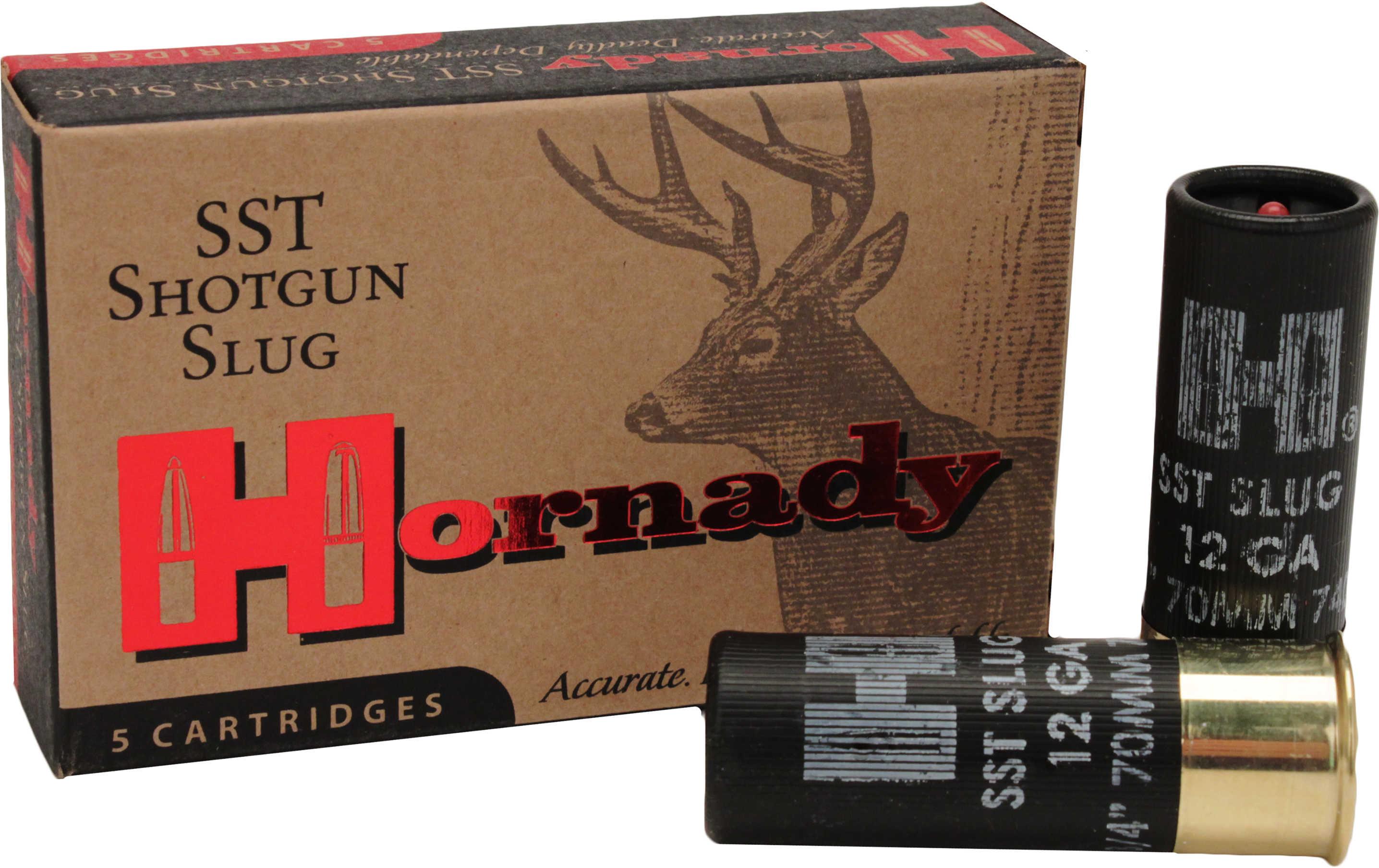 Hornady SST Shotgun Slug 12 Gauge, 300 Grain (Per 5) 8623