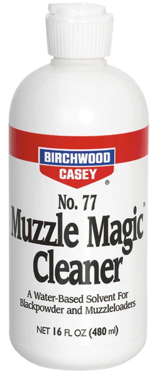 Birchwood Casey Muzzle Magic No  77 Cleaner, Black Powder, Flip Top 16 oz   33745