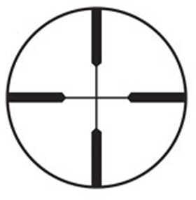 "Burris Scout Rifle Scope 2.75X20mm 1"" Heavy Plex Reticle 0.5MOA Matte Black Finish 200269"