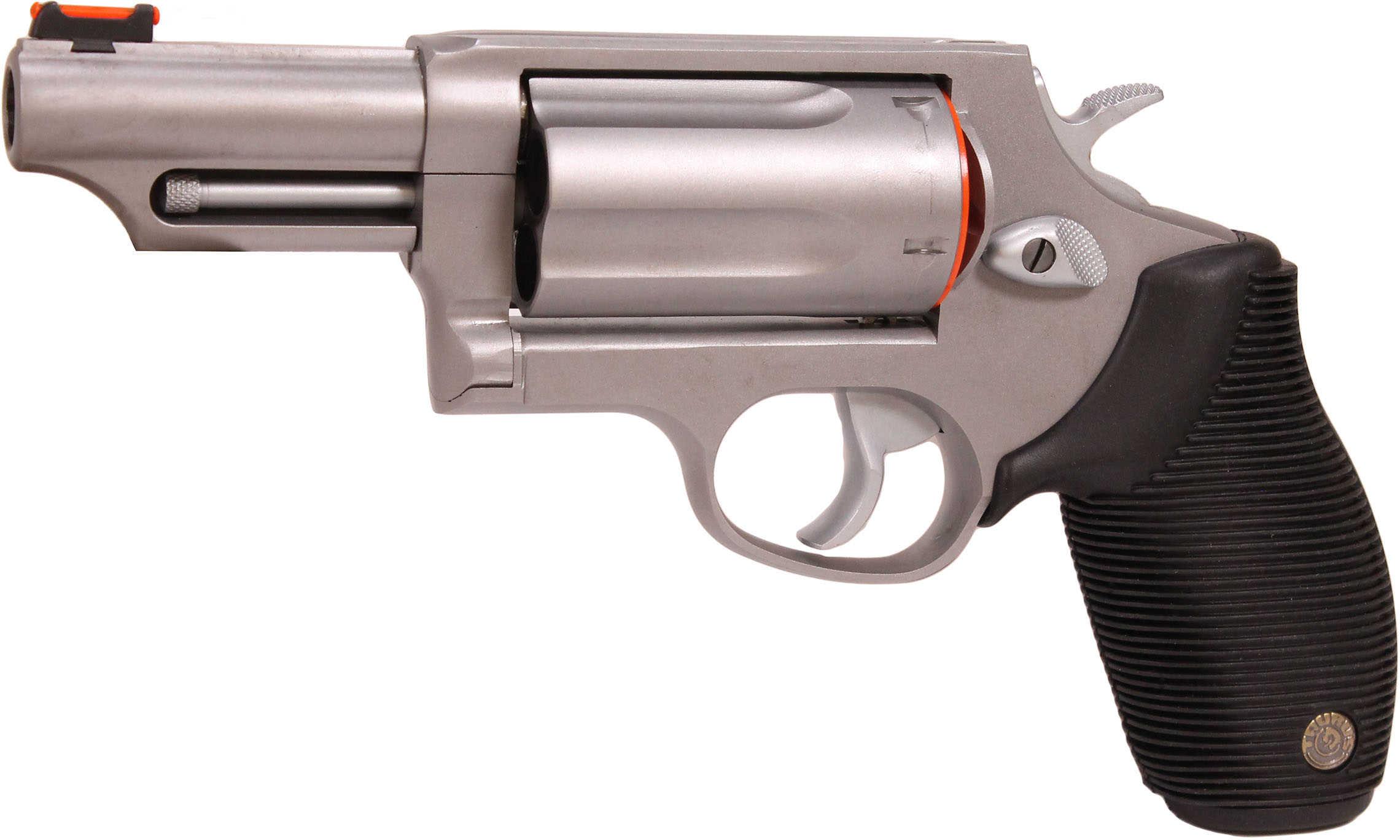 "Taurus Model ""The Judge"" 410 Gauge / 45 Long Colt Tracker Matte Stainless Steel 3"" Barrel Revolver 2441039T"