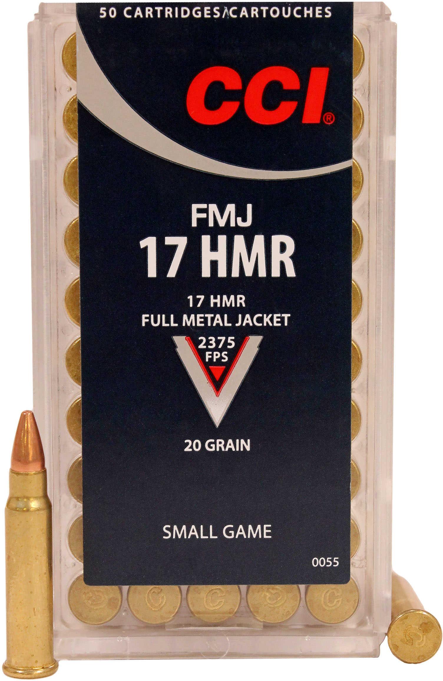CCI/Speer Hunting 17HMR 20 Grain Full Metal Jacket 50 Round Box 55