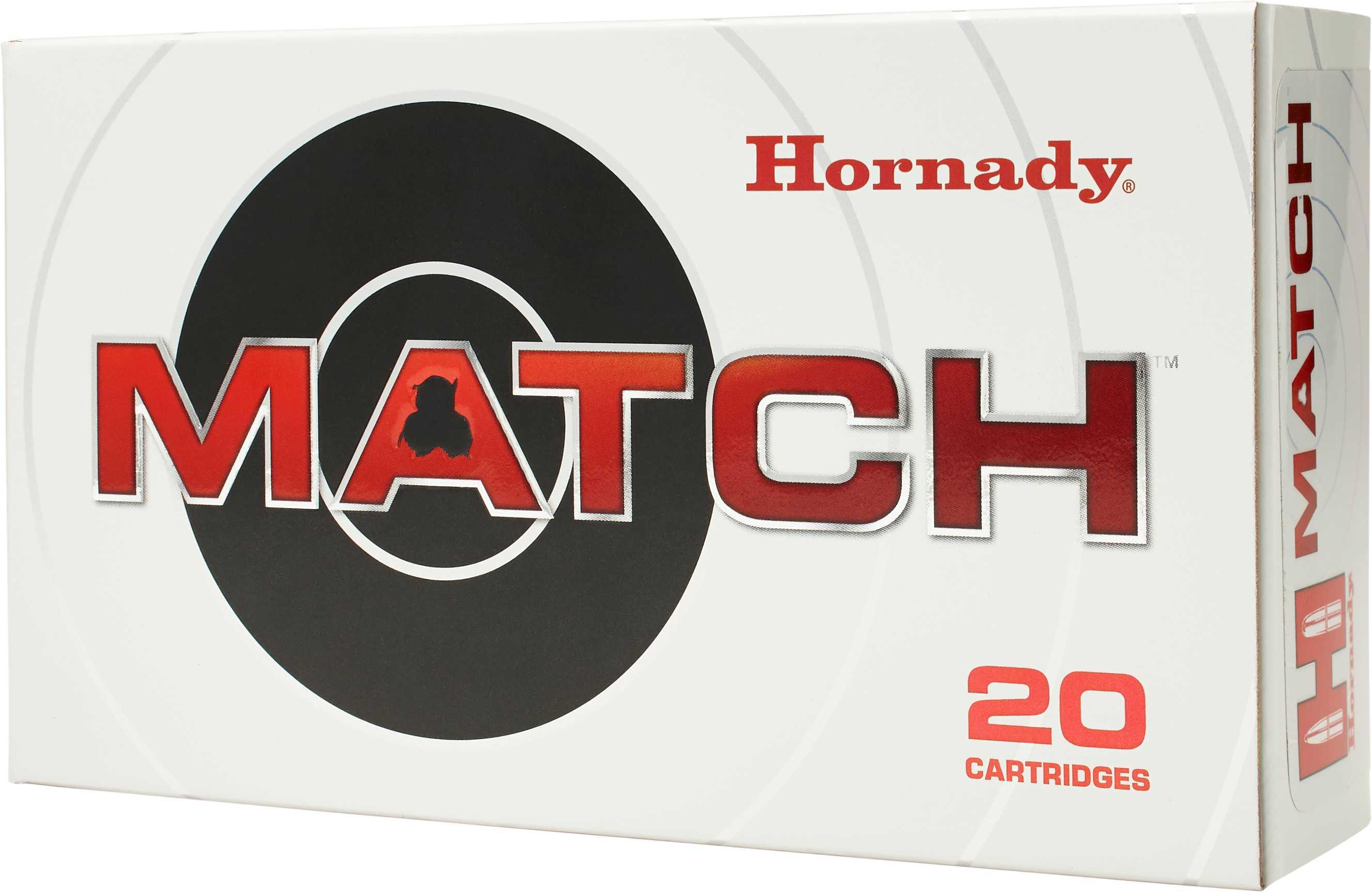 Hornady Match 338 Lapua 250 Grain Boat Tail Hollow Point 20 Round Box 8230
