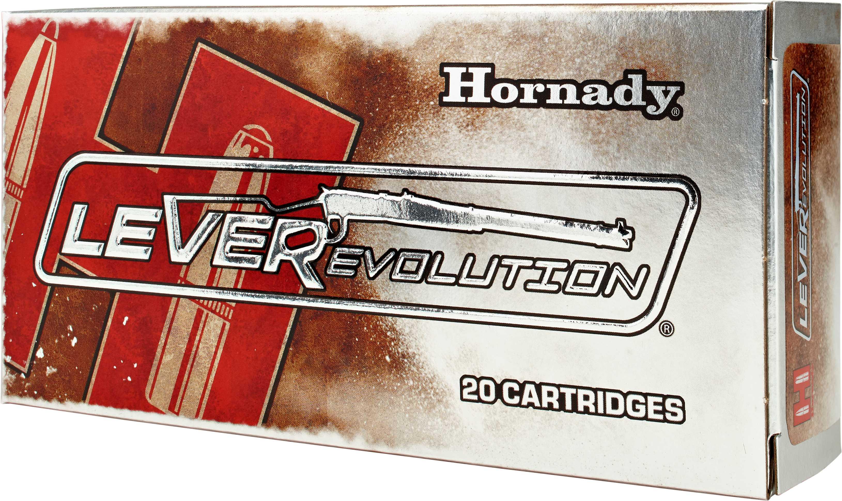 Hornady 357 Magnum 357Mag, Leverevolution, 140gr, FTX, (Per 25) 92755