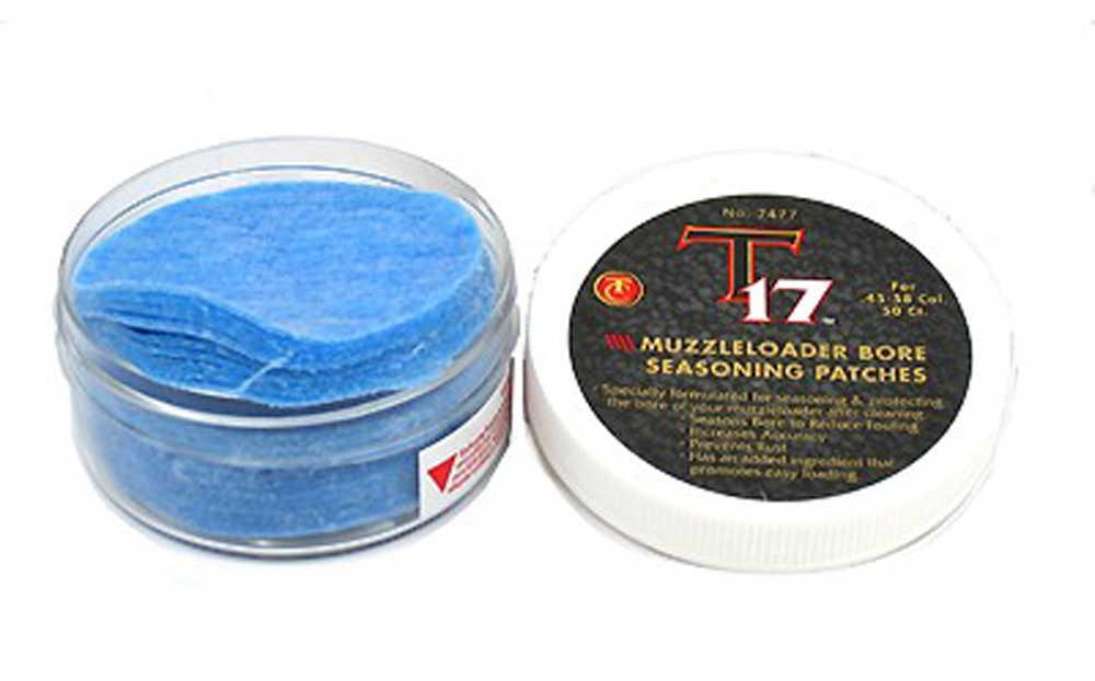 "Thompson/Center Arms T17 Accessories Patches, 50 Per Jar, 2 1/2"" Diameter 7477"